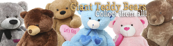 Giant teddy bears