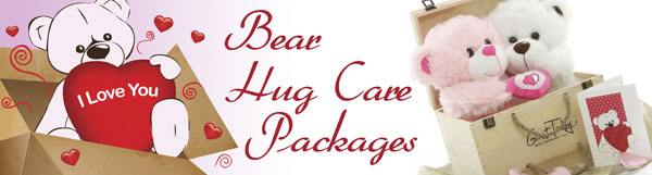 Bear hug care packages