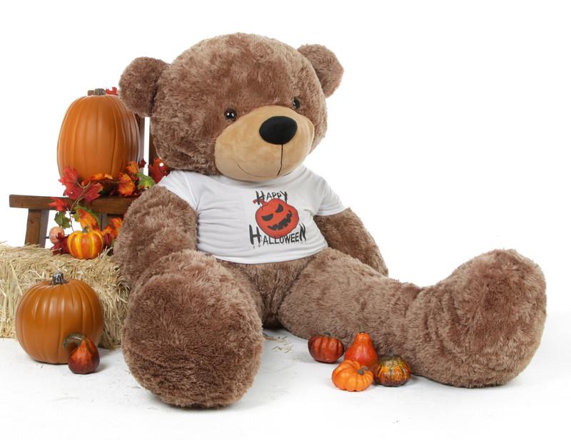 Giant Teddy Sunny Cuddles Mocha Giant Teddy Bear in a spo...