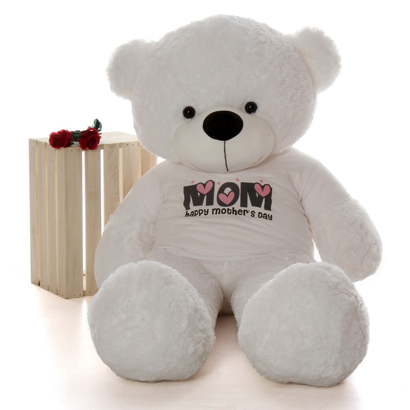 Giant Teddy Huge Life Size 5ft Happy Mother's Day teddy b...