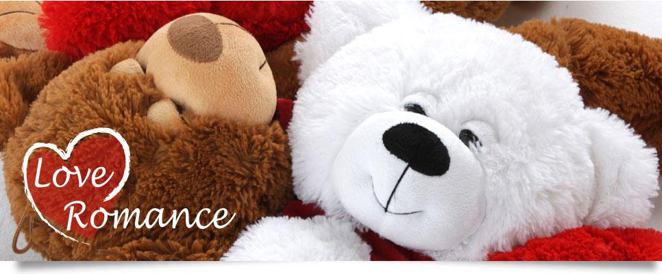 Love and romance teddy bears