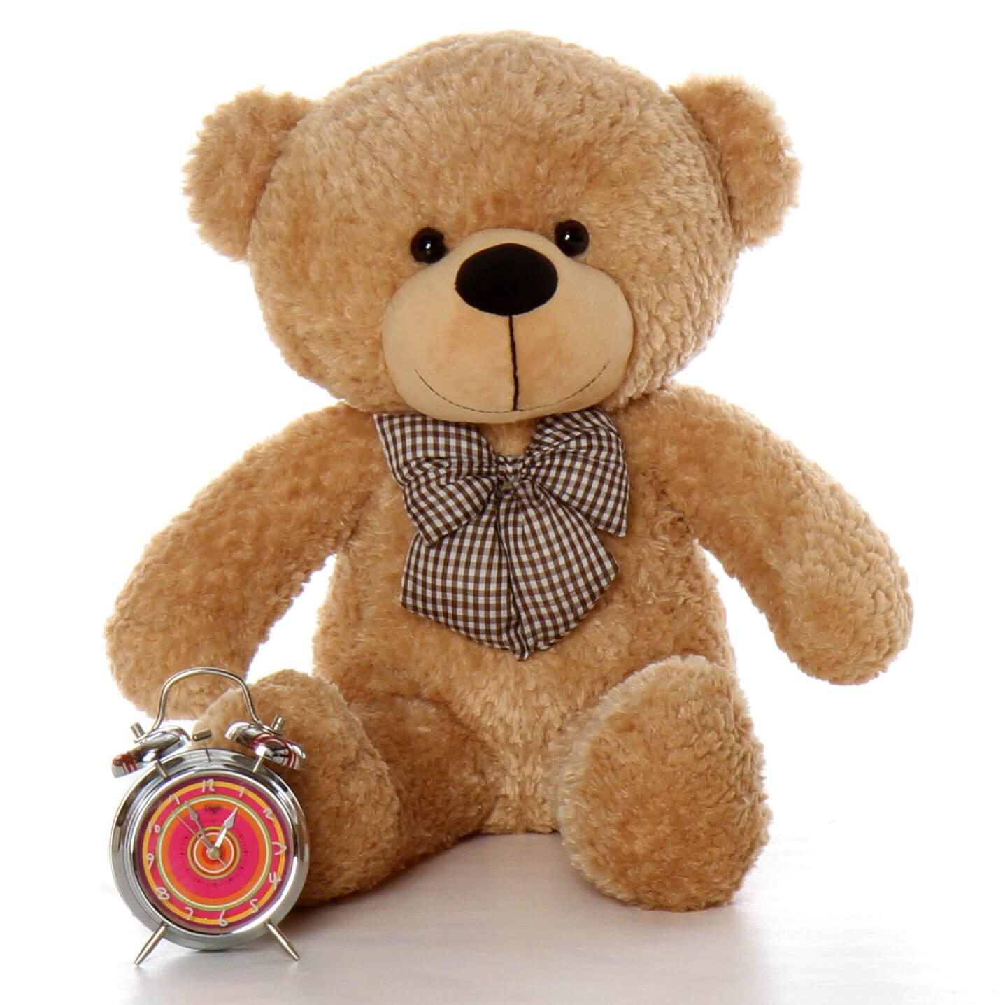 2.5ft Tall Adorable Big Teddy Bear Shaggy Cuddles