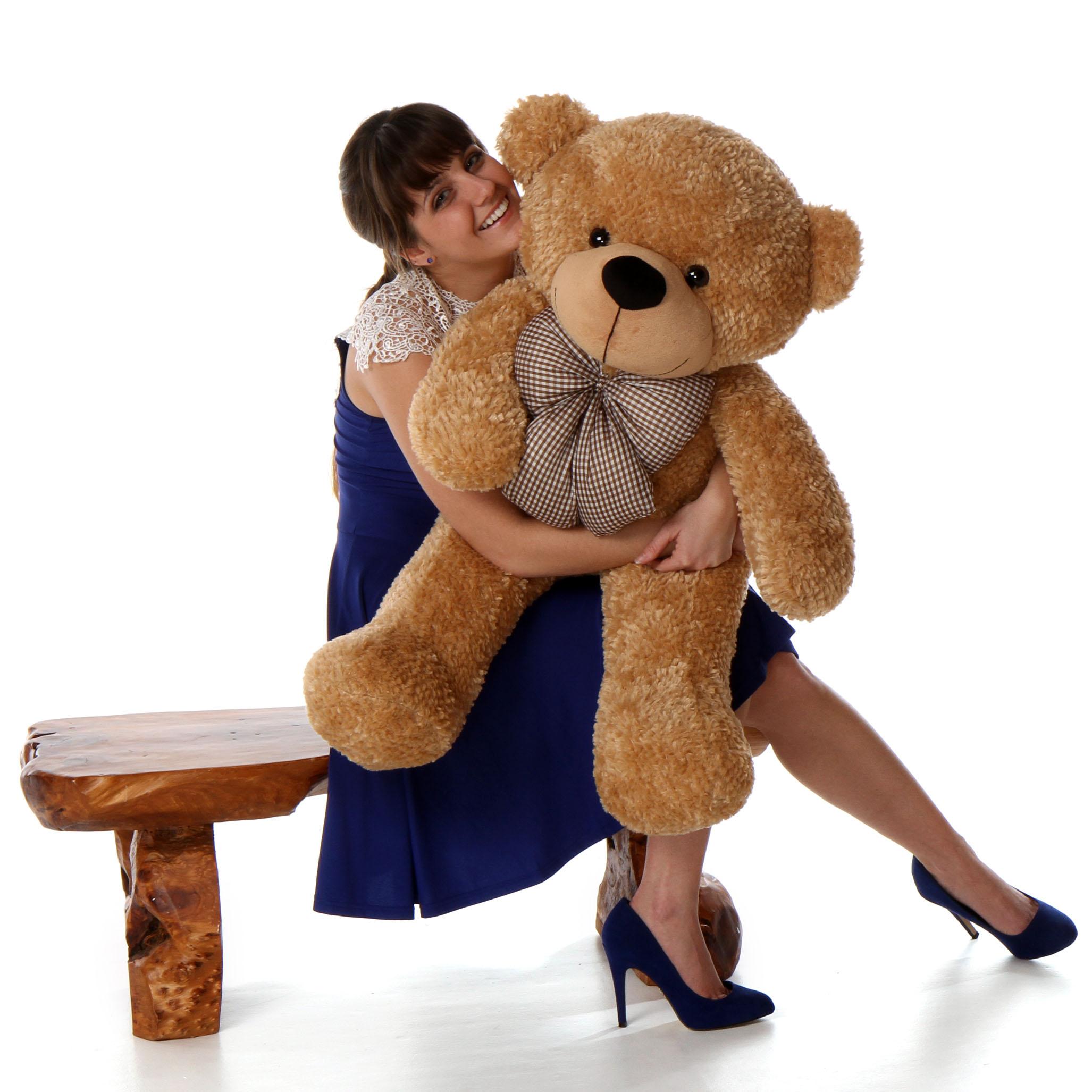 38in-huge-amber-brown-teddy-bear-shaggy-cuddles.jpg