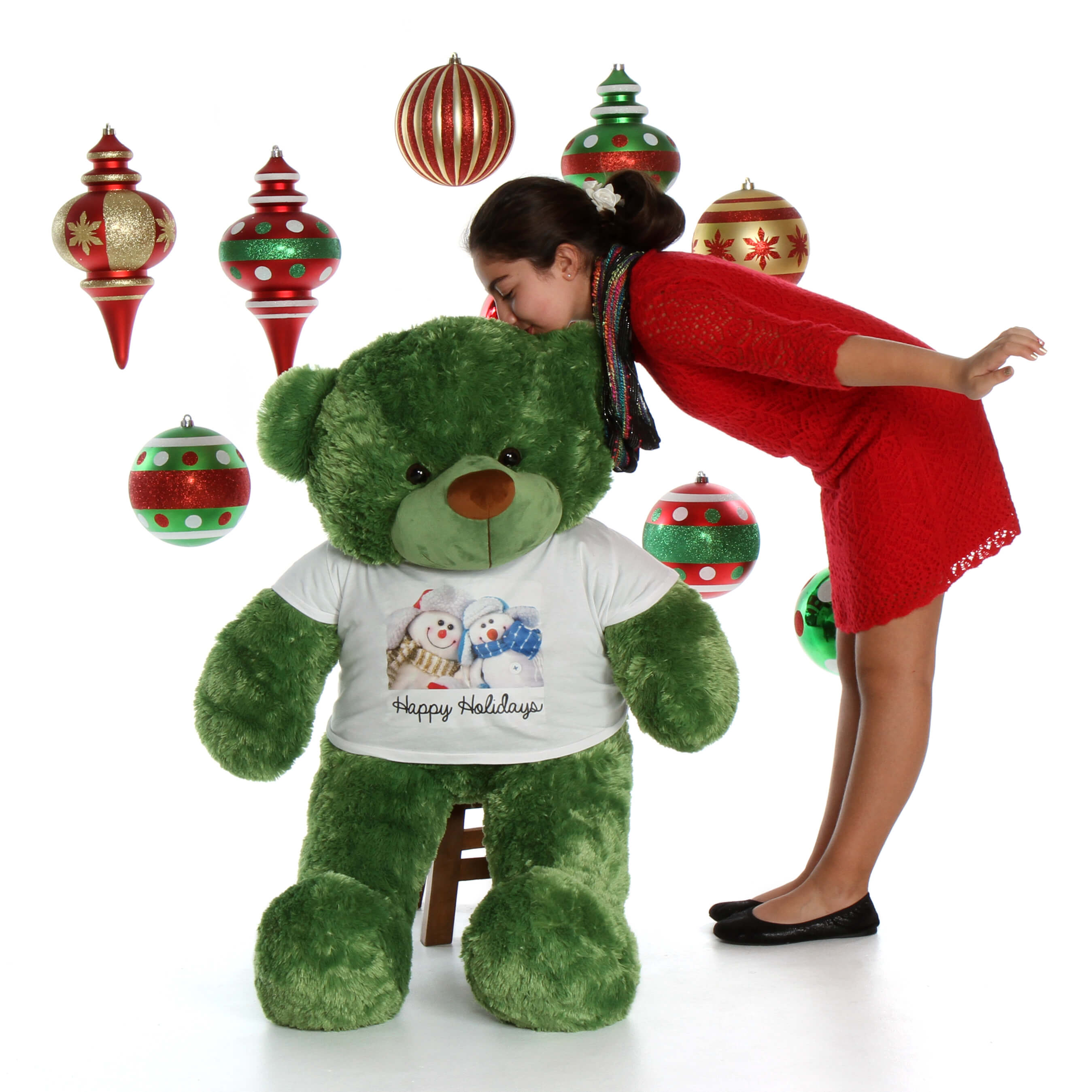 48in-lucky-cuddles-green-giant-teddy-bear-snowman-shirt-kisses1.jpg