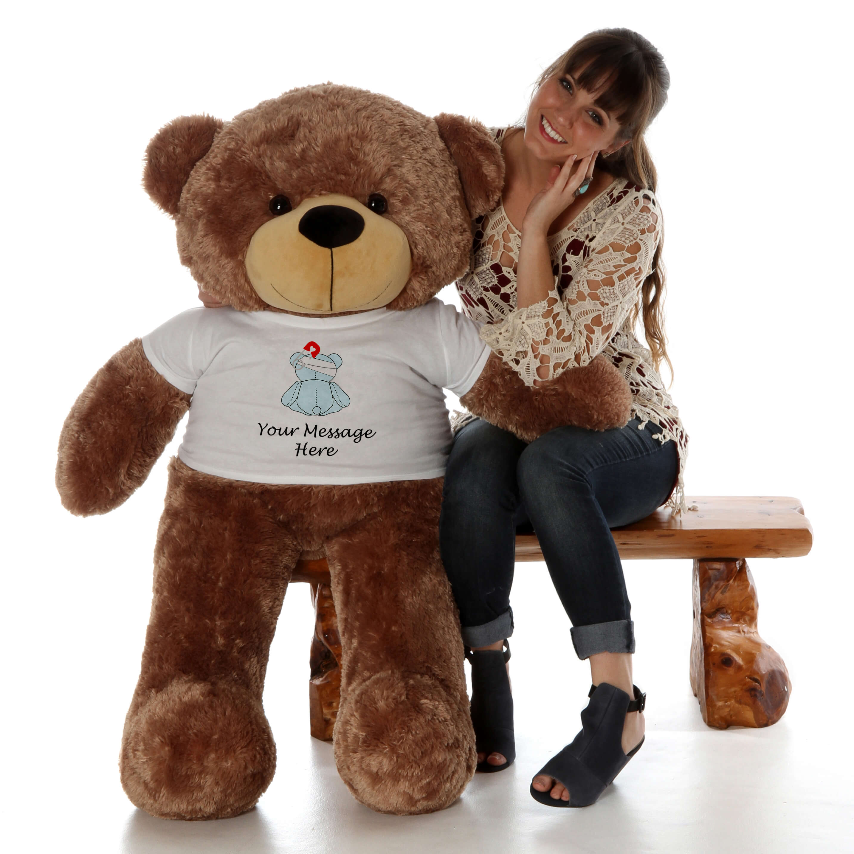 4ft-sunny-cuddles-mocha-brown-giant-teddy-bear-in-a-get-well-soon-your-message-here-t-shirt.jpg