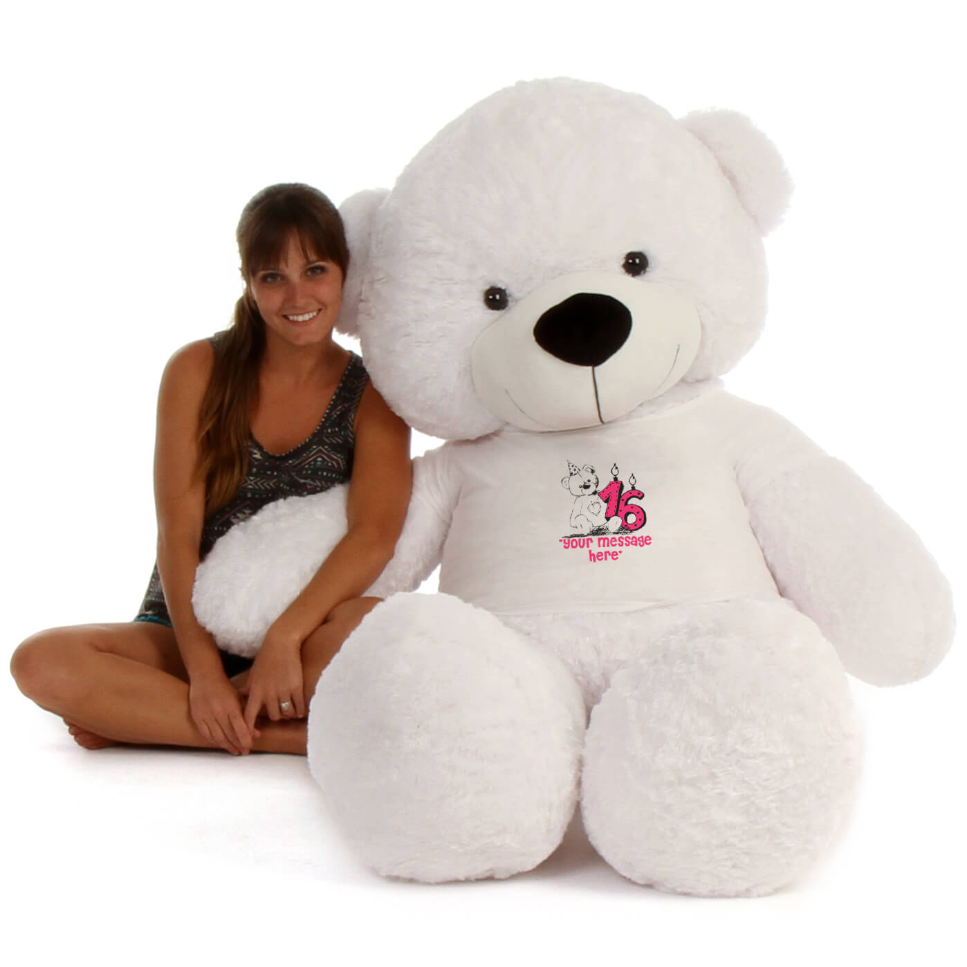 6ft-giant-teddy-coco-cuddles-white-bear-in-a-happy-birthday-your-message-here-t-shirt.jpg