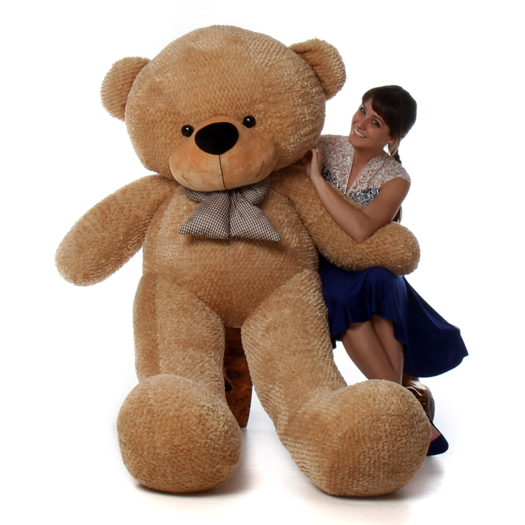 Shaggy Cuddles 72 Quot Life Size Amber Plush Teddy Bear The