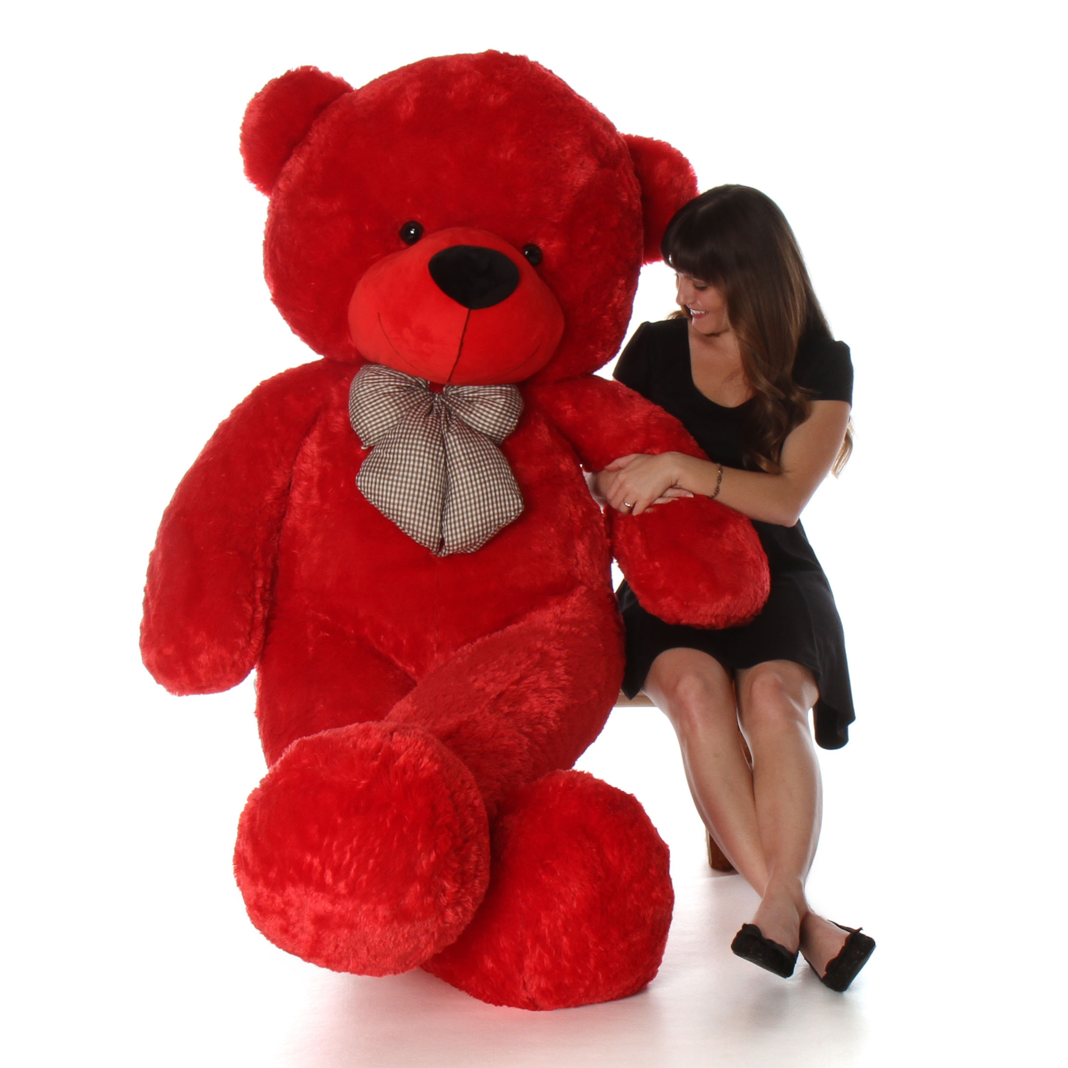Humongous Life Size 72in Red Teddy Bear Bitsy . Other Valentineu0027s Day Giant  ...